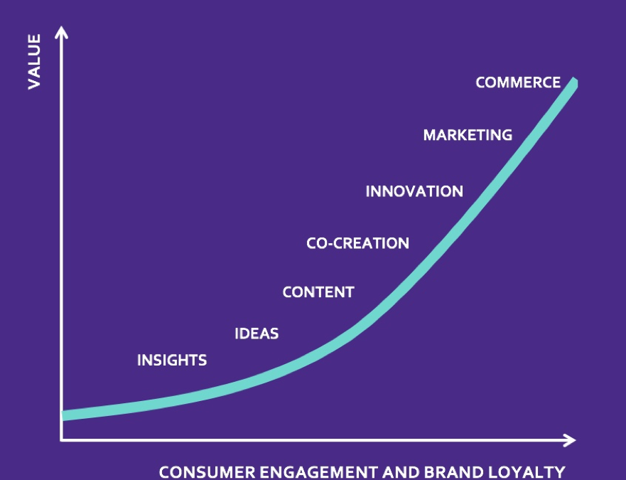Introducing the brand community value curve
